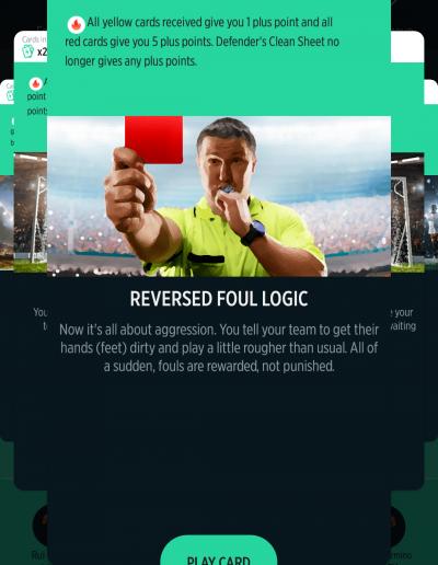 Reversed Foul Logic Card