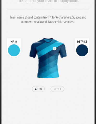 TrophyRoom - The Fantasy Football Game - Create your team