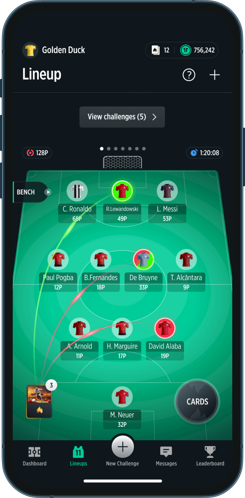 TrophyRoom - The Fantasy Football Game