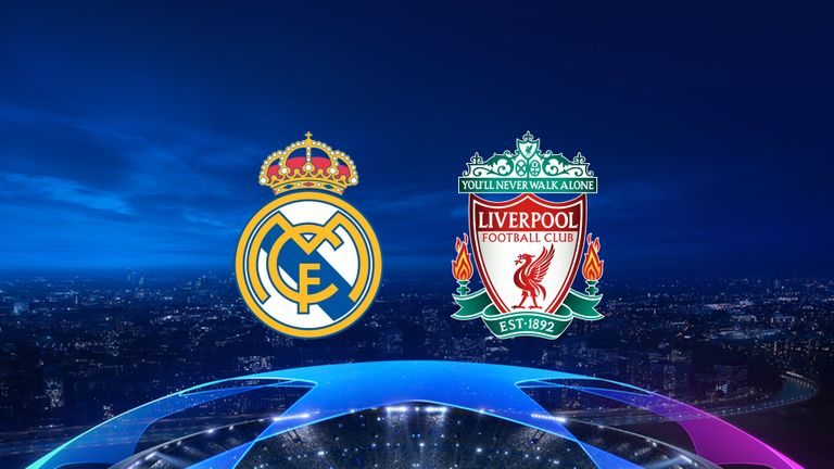 Real Mandrid vs Liverpool