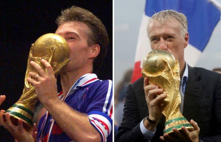 Didier Deschamps Lifted The World Cup