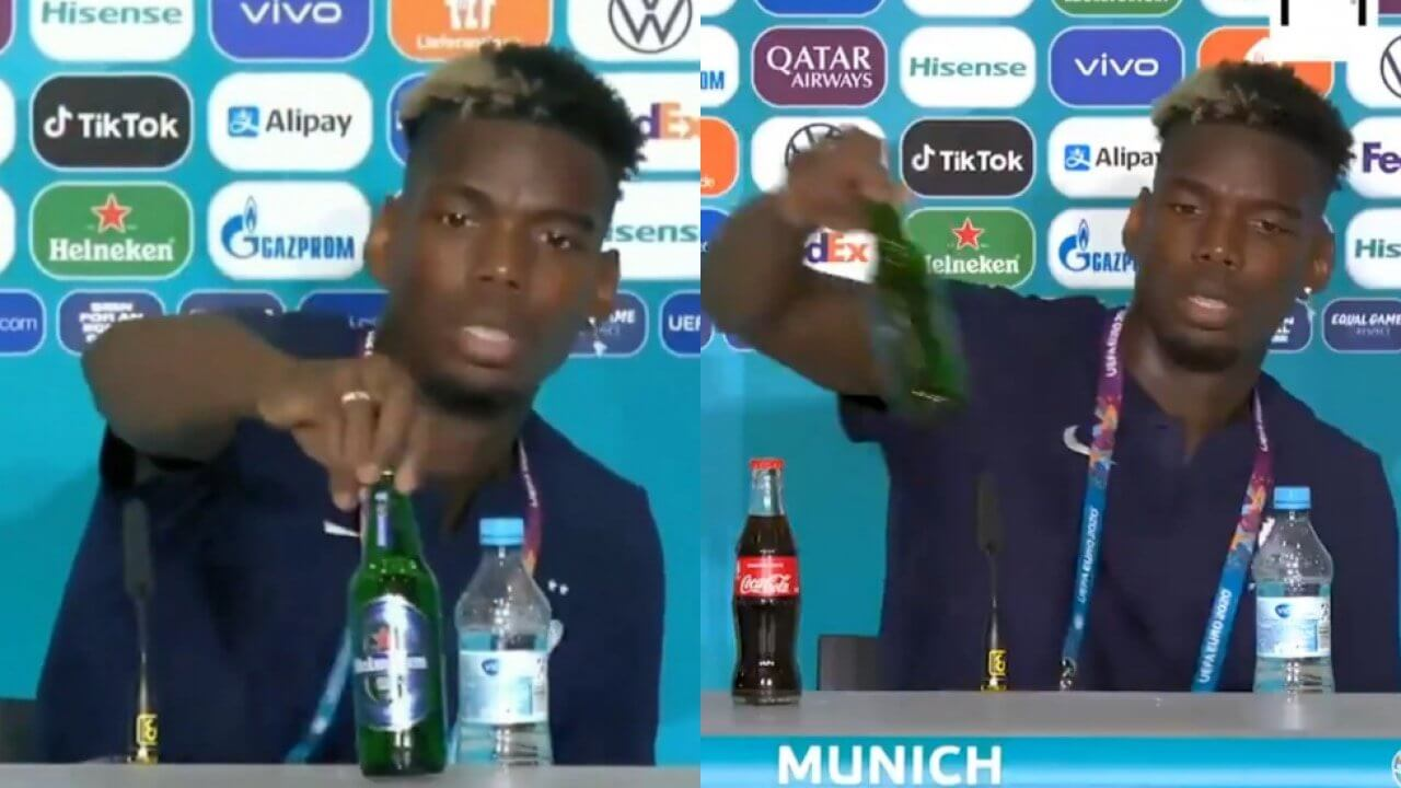 Paul Pogba with Heineken