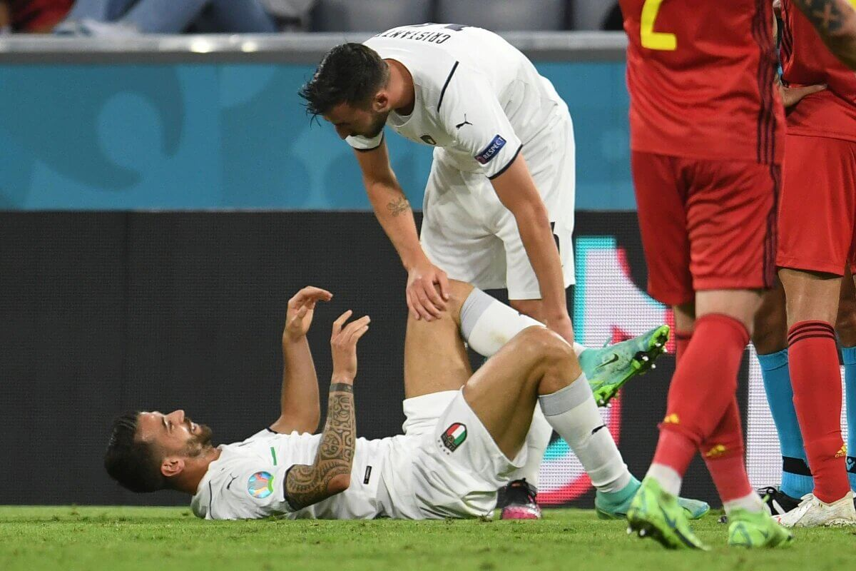 Leonardo Spinazzola injured