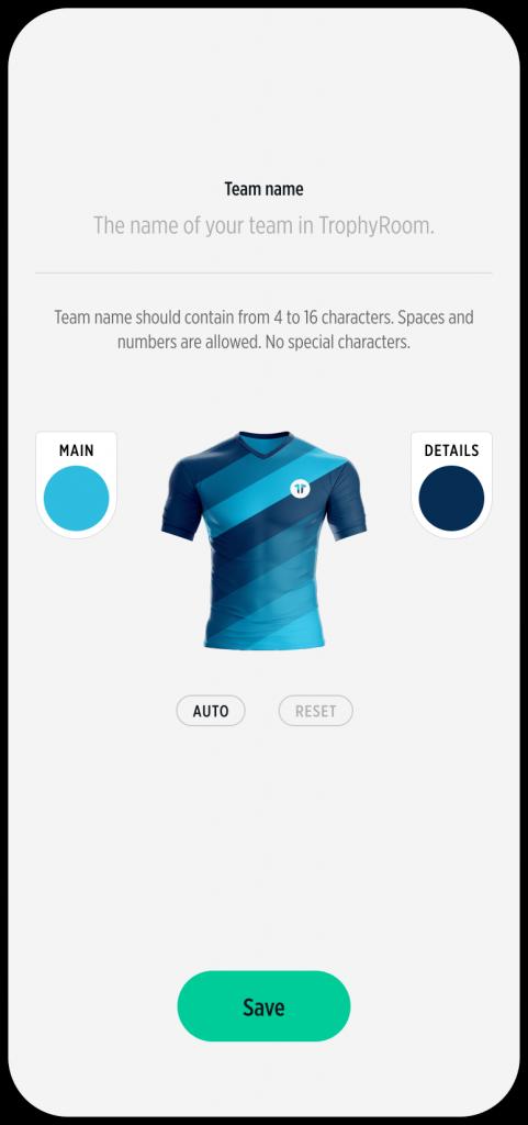 TrophyRoom - The Fantasy Football Game - Create your team
