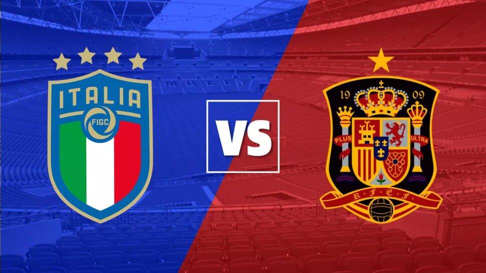 Italy vs Spain in Euro 2020