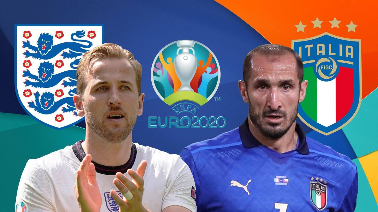 England vs Italy Euro 2020